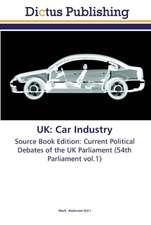 UK: Car Industry