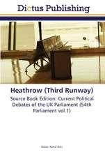 Heathrow (Third Runway)