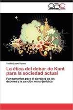 La Etica del Deber de Kant Para La Sociedad Actual:  Analisis Sintactico Semisupervisado Para El Espanol