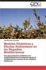 Modelos Dinamicos y Efectos Ambientales En Los Regadios Mediterraneos:  Herramienta Gerencial Competitiva
