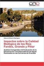 Impactos Sobre La Calidad Biologica de Los Rios Fardes, Grande y Pinar:  Imaginarios Colectivos