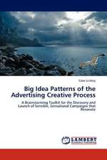 Big Idea Patterns of the Advertising Creative Process
