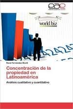 Concentracion de La Propiedad En Latinoamerica:  El Caso del Tequila