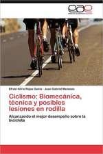Ciclismo: Biomecánica, técnica y posibles lesiones en rodilla