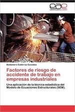 Factores de Riesgo de Accidente de Trabajo En Empresas Industriales:  Un Desequilibrio Permanente