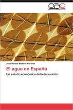 El Agua En Espana:  Aportes a la Construccion del Conocimiento