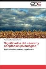 Significados del Cancer y Aceptacion Psicologica:  Su Influencia En La Evaluacion Profesoral