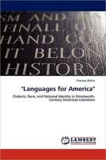"""Languages for America"""