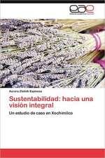 Sustentabilidad: hacia una visión integral