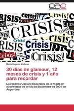 30 días de glamour, 12 meses de crisis y 1 año para recordar