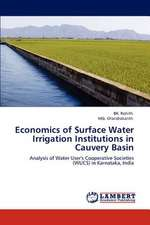 Economics of Surface Water Irrigation Institutions in Cauvery Basin