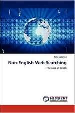 Non-English Web Searching