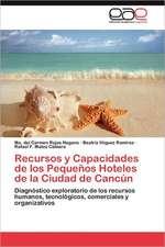 Recursos y Capacidades de Los Pequenos Hoteles de La Ciudad de Cancun:  En Torno a la Violencia Familiar