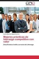 Mejores prácticas de liderazgo competitivo con valor