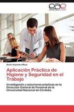 Aplicacion Practica de Higiene y Seguridad En El Trabajo:  Educacion de Adultos, Ciencia O Disciplina?