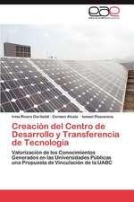 Creacion del Centro de Desarrollo y Transferencia de Tecnologia:  Herramienta de La Web 2.0 Para Algebra Lineal