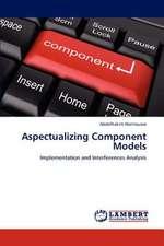 Aspectualizing Component Models