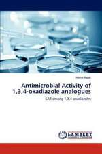 Antimicrobial Activity of 1,3,4-oxadiazole analogues