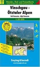 Südtirol 02 Vinschgau - Ötztaler Alpen 1 : 50 000