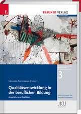 Qualitätsentwicklung in der beruflichen Bildung