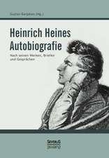 Heinrich Heines Autobiografie