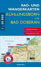 Rad- und Wanderkarten-Set: Kühlungsborn und Bad Doberan