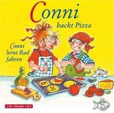 Conni backt Pizza / Conni lernt Rad Fahren