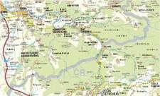 Nationalparkregion Sächsisch-Böhmische Schweiz 1 : 33 000