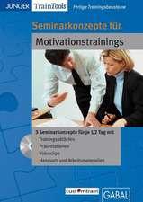 Fertige Seminarkonzepte für Motivationstrainings