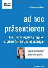 ad hoc präsentieren