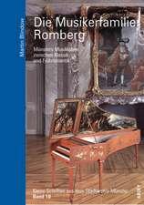 Kleine Schriften aus dem Stadtarchiv Münster 10. Die Musikerfamilie Romberg