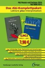 Der Prozess Kafka, F: Prozess - Das Abi-Komplettpaket: Lektüre plus Interpretation