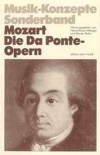Mozart. Die DaPonte-Opern