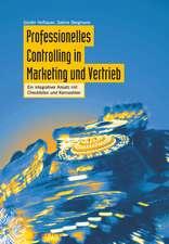 Professionelles Controlling in Marketing und Vertrieb: Ein integrierter Ansatz