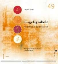 Heilende Engelsymbole. Buch und Karten