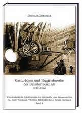 Gasturbinen und Flugtriebwerke der Daimler-Benz AG, 1952-1960