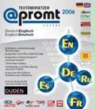 @promt Expert 2006 Deutsch - Englisch / Englisch - Deutsch. CD-ROM für Windows 98, Me, NT(mit SP6); 2000, XP