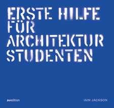 Erste hilfe für Architekturstudenten
