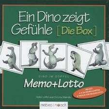 Ein Dino  zeigt Gefühle - Die Box