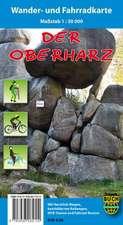 Der Oberharz Wander- und Fahrradkarte 1 : 30 000