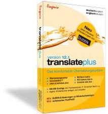 translate plus 12.1 Deutsch-Englisch