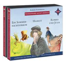 Weltliteratur für Kinder: Shakespeare leicht erzählt, 3er-Box: Romeo und Julia, Hamlet, Ein Sommernachtstraum