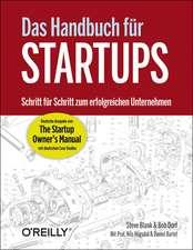 """Das Handbuch für Startups - die deutsche Ausgabe von """"The Startup Owner's Manual"""""""