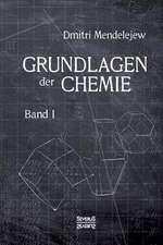Grundlagen Der Chemie - Band I