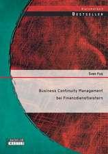 Business Continuity Management Bei Finanzdienstleistern:  Sexualpadagogik Im Umgang Mit Sozial-Online-Vernetzten Jugendlichen