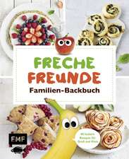 Freche Freunde Familien-Backbuch