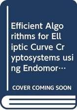 Efficient Algorithms for Elliptic Curve Cryptosystems using Endomorphisms