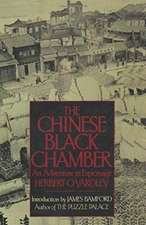The Chinese Black Chamber An Adventure in Espionage
