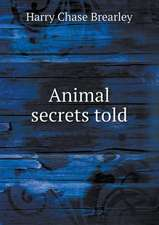Animal secrets told