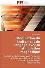 Modulation du traitement du langage avec la stimulation magnétique